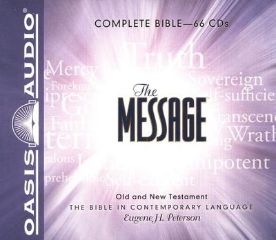 The Message: The Bible in Contemporary Language - Unabridged Audiobook on 66 CDs in a Boxed Set  -     By: Eugene H. Peterson