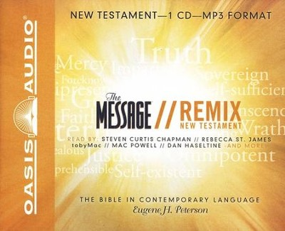 The Message Remix: The New Testament                  Audio Bible on MP3-CD  -     By: Eugene H. Peterson