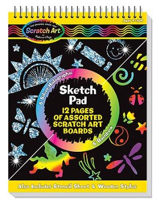 Scratch Art Sketch Pad  -