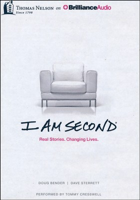 I Am Second: Real Stories. Changing Lives. - unabridged audiobook on MP3-CD  -     Narrated By: Tommy Cresswell     By: Dave Sterrett, Doug Bender