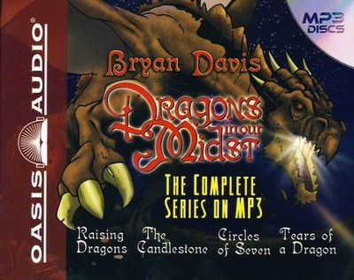 Dragons in Our Midst: Unabridged Audiobook on MP3 CD  -     By: Bryan Davis