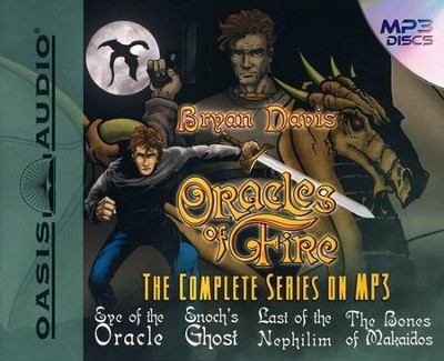 Oracles of Fire: Unabridged Audiobook on MP3 CD  -     By: Bryan Davis