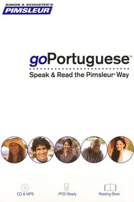 goPortuguese (Brazilian): Speak and Read the goPimsleur Way  -     By: Pimsleur