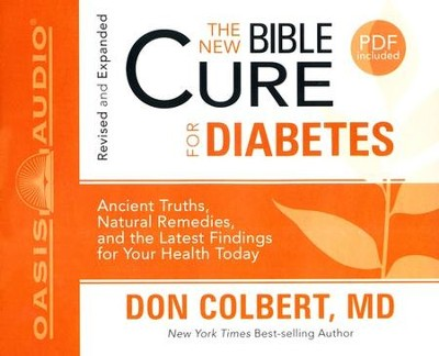 The New Bible Cure for Diabetes: Unabridged Audiobook on CD  -     By: Don Colbert M.D.