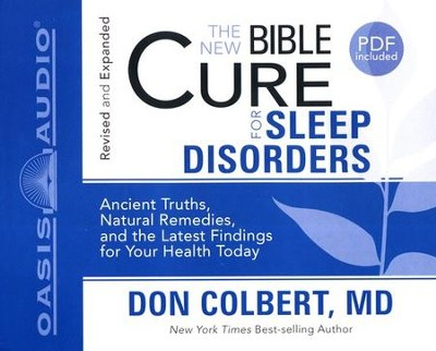 The New Bible Cure for Sleep Disorders: Unabridged Audiobook on CD  -     By: Don Colbert