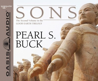 #2: Sons: Unabridged Audiobook on CD  -     Narrated By: Adam Verner     By: Pearl S. Buck