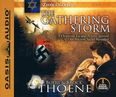 The Gathering Storm Unabridged Audiobook on CD  -     By: Brock Thoene