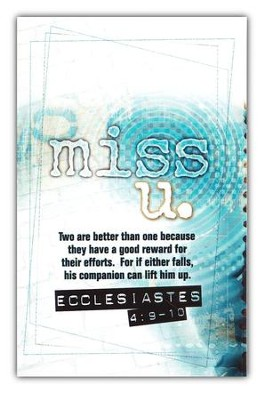 Miss U, Postcards, 25                 -