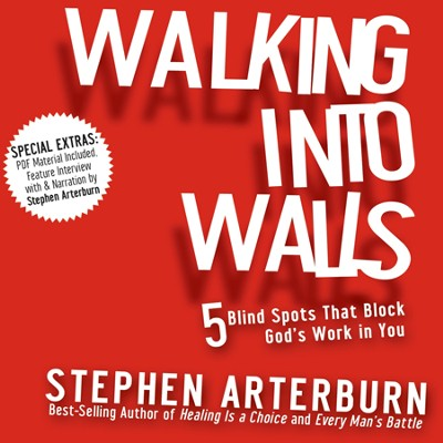 Walking Into Walls Unabridged Audiobook on CD  -     By: Stephen Arterburn