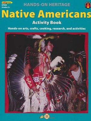 Hands-On Heritage Native Americans Activity Book   -     By: Mary Jo Keller     Illustrated By: Katherine Rosseyedi