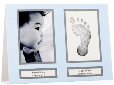 Birth Announcements Blue, Pack of 10  -