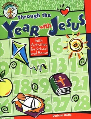 Through the Year with Jesus  -     By: Darlene Hoffa