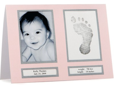 Birth Announcements Pink, Pack of 10  -