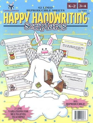Happy Handwriting: Scriptures   -