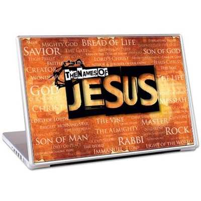 Names of Jesus Laptop Skin  -