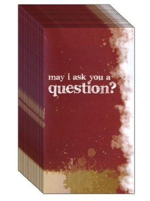May I Ask You A Question? - Staple Free  Pack of 25   -