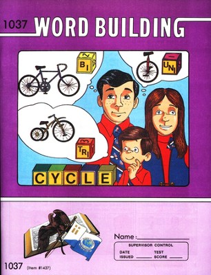 Word Building PACE 1037, Grade 4   -