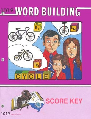 Word Building PACE SCORE Key 1019, Grade 2   -