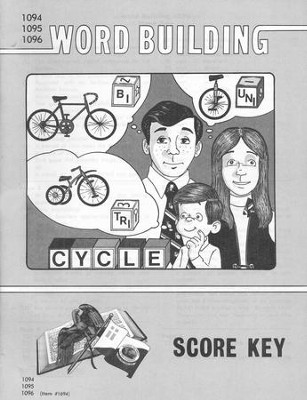 Word Building PACE SCORE Key 1094-1096, Grade 8   -