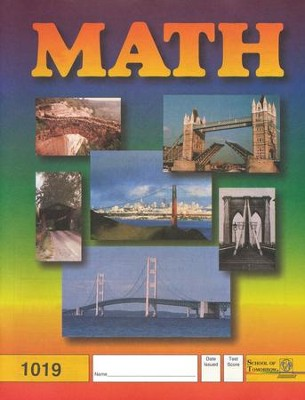 Latest Edition Math PACE 1019, Grade 2   -