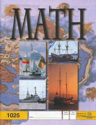 Latest Edition Math PACE 1025, Grade 3   -