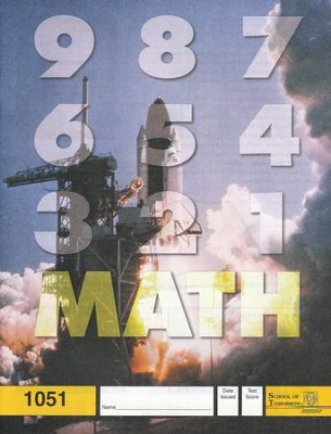Latest Edition Math PACE 1051, Grade 5   -