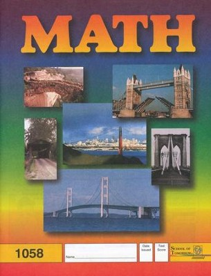 Latest Edition Math PACE 1058, Grades 5   -