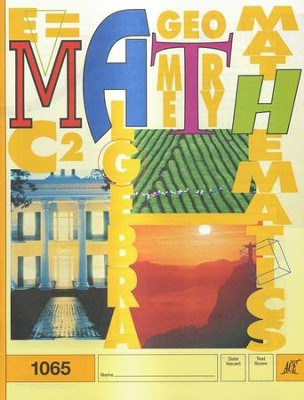 Latest Edition Math PACE 1065, Grade 6   -