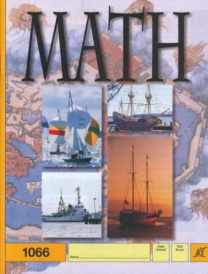 Latest Edition Math PACE 1066, Grade 6   -