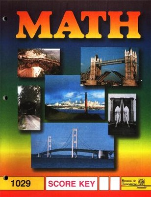 Latest Edition Math PACE SCORE Key 1029  -
