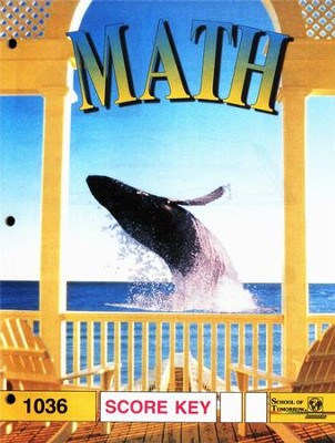 Latest Edition Math PACE SCORE Key 1036  -