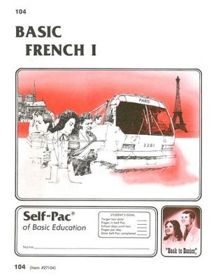 French Self-Pac 104, Grades 9-12   -