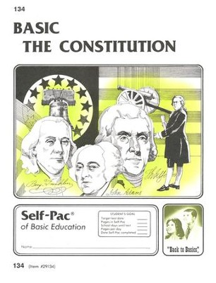 The Constitution Self-Pac 134, Grades 9-12   -
