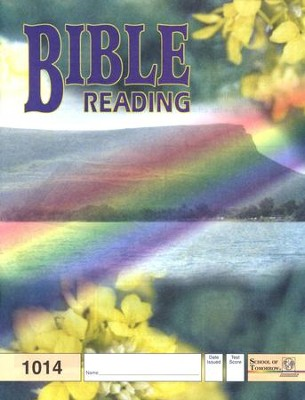 Bible Reading PACE 1014, Grade 2   -