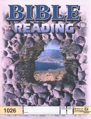 Bible Reading PACE 1026, Grade 3   -