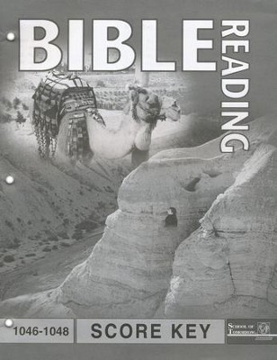 Bible Reading PACE SCORE Key 1046-1048, Grade 4   -