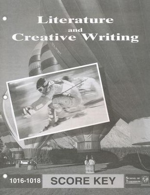 Literature And Creative Writing PACE SCORE Key, Grade 2 1016-1018  -
