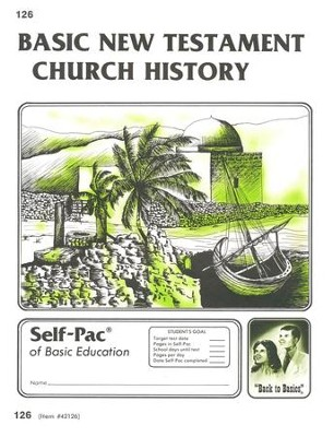New Testament Church History Self-Pac 126, Grades 9-12   -