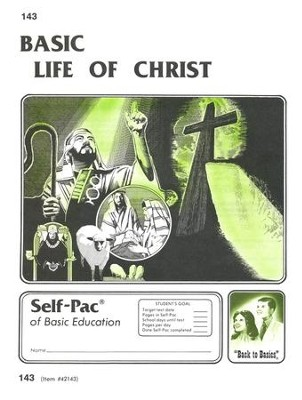 Life Of Christ Self-Pac 143, Grades 9-12   -