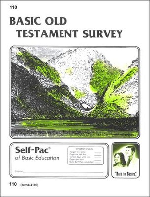 Old Testament Survey Self-Pac 110, Grade 9-12   -