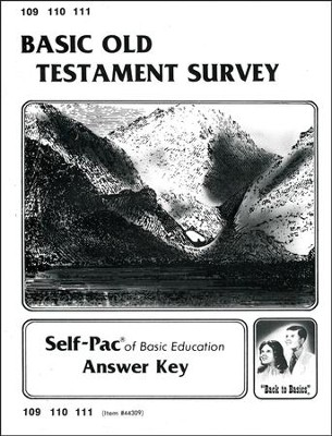 Old Testament Survey Key 109-111  -
