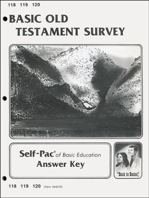 Old Testament Survey Key 118-120  -