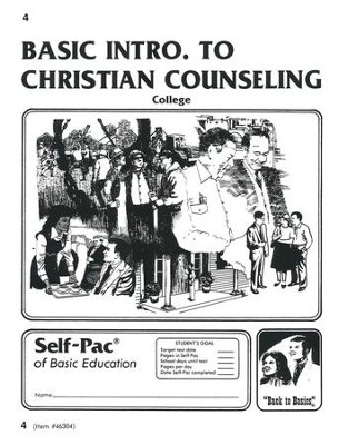 Introduction To Christian Counsel Self-Pac 4  -