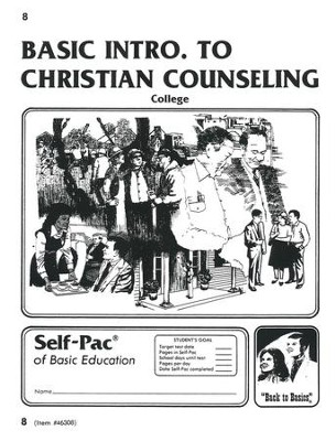 Introduction To Christian Counsel Self-Pac 8  -