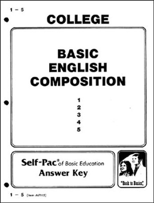 English Composition Key 1-5  -