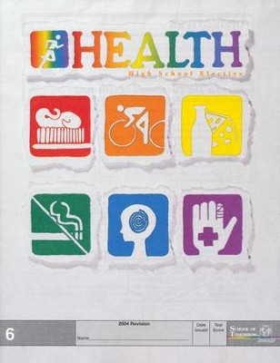 Health PACE 6, Grade 9-12   -