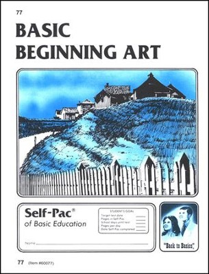 Beginning Art Self-Pac 77, Grade 9-12   -