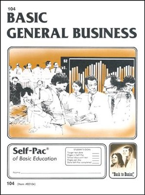General Business Self-Pac 104  -