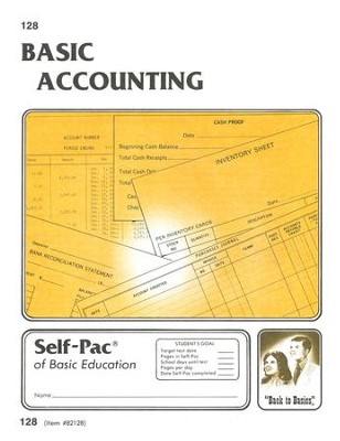 Accounting Self-Pac 128, Grades 9-12   -