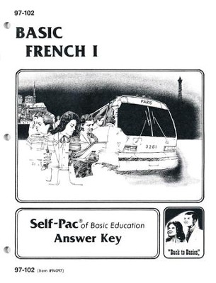 French Key 97-102, Grades 9-12  - Slightly Imperfect  -